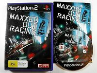 Maxxed Out Racing Nitro Maxed MINT DISC PS2 Playstation 2