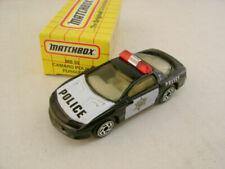 Voitures miniatures blancs Matchbox