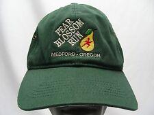 PEAR BLOSSOM RUN - MEDFORD, OREGON - ADJUSTABLE STRAPBACK BALL CAP HAT!