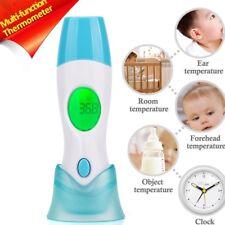 4 en 1 Termómetro Oído y Frente Bebé Adulto Infrarrojo LCD Digital Medical