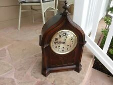 Rare Antique Herman Miller Clock Co. Large Cathedral Westminster Chime Clock