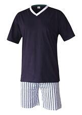 Pyjama Schlafanzug Hausanzug Wäsche 100% Baumwolle M L XL 2XL 3XL Übergrößen