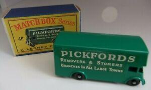 Matchbox Lesney No 46 Pickfords Removal Van Boxed