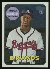 2018 Topps Heritage Chrome Ronald Acuna Jr. Atlanta Braves RC Rookie 372/999