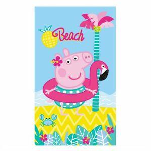 Handtuch Beach   70 x 120 cm   Peppa Wutz   Peppa Pig   Kinder Strandtuch