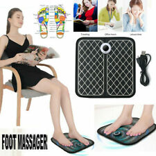 EMS Foot Massager Deep Kneading Shiatsu Therapy Massage with Built in Heat