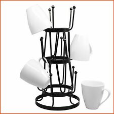 Mug Tree Holder Organizer Rack Stand for Kitchen Counter Coffee Table Storage