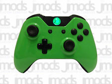 NEW Xbox One 1 Custom Wireless Controller (Gloss Green) Led Mod
