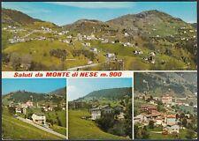 AD5852 Saluti da Monte di Nese (BG) - Vedute - Cartolina postale - Postcard