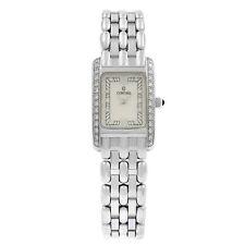 Concord Veneto Madre de Perla 18K Oro Blanco Diamante de Cuarzo Reloj de señoras de Crema 61-25-680
