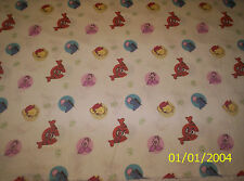 New Disney Winnie the Pooh Bee Cuddly Dot Toss flannel fabric by the 1/4 yard