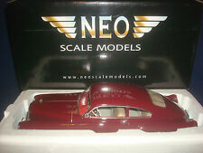 Cadillac Series 62 Club Coupe Sedanette dark red NEO 18245 1:18