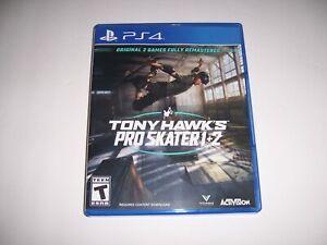 Replacement Box Case Tony Hawk's Pro Skate 1+2 PlayStation PS4 ORIGINAL NO DISC