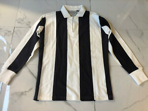 Men's NWOT Rowing Blazers Cotton Long Sleeve Polo Rugby Overshirt Size S