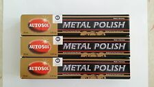 3 x AUTOSOL METAL POLISH 75ml