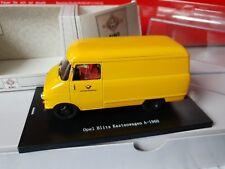 BING Brekina 1:43 OPEL BLITZ Kastenwagen 1960  DEUTSCHE BUNDESPOST-4260384281914