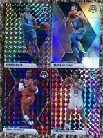 2020 Panini Mosaic Basketball Refractor Oklahoma City Thunder (4)Card Lot+Silver
