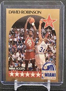 1990-91 NBA Hoops DAVID ROBINSON Card #24 San Antonio Spurs Basketball HOF