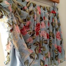 NWT Denim & Supply Ralph Lauren Beautiful Floral Lacey Swing Mini Skirt M $90