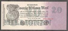 ALEMANIA GERMANY 20 MILLIONEN  MARK 1923 Pick  97b    SC  AUNC