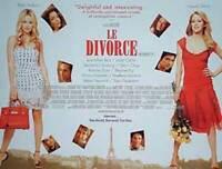Le Divorce (Zweiseitig) Original Filmposter