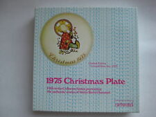 Hummel Plate 1975 Christmas Child Le Sister Berta West Germany Schmid Jesus vtg