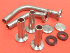 Stainless Steel Fittings w/Endcaps & Gaskets - Tri-Clamp Connections