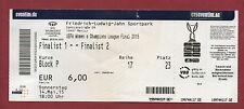 Orig.Ticket   Womans Ch.League 14/15  FINALE  PARIS St.GERMAIN - 1.FFC FRANKFURT