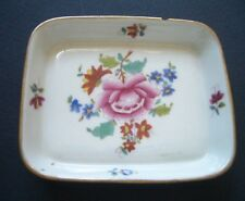 HEREND Mini Dish with 100 Year Anniversay Mark - Chip to Rim Hence Cheap Price