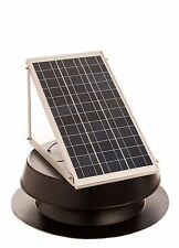 Solar attic fan 30 Watt solar panel W/ Thermal Switch