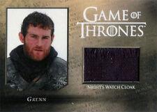Game of Thrones Season 5 Night Watch CC3 Costume Relic Card Grenn #057/250