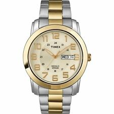 Timex Men's T2N439 Highland Street Two-Tone Stainless Steel Bracelet Watch