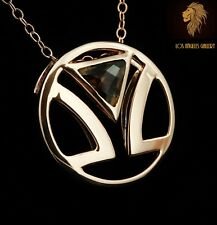 NEW / Levian Logo Chocolate Topaz necklace / Limited Edition and availability