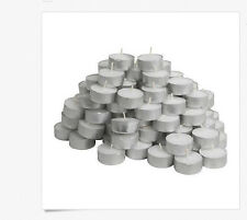 NEW IKEA~200 PCS~ GLIMMA UNSCENTED TEA LIGHT CANDLE