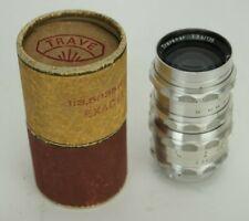 Vintage A. Schacht Muchen Travenar 1:3.5/135 mm Lens