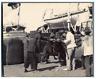 Indochine, Cochinchine, Saigon, Boarding a horse  Vintage citrate print Tirage