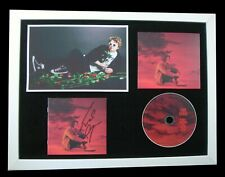 LEWIS CAPALDI+SIGNED+FRAMED+DIVINELY UNINSPIRED=100% AUTHENTIC+FAST GLOBAL SHIP