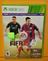 FIFA 15 Soccer EA  - Microsoft Xbox 360 Game - BRAND NEW FACTORY X Y SEALED