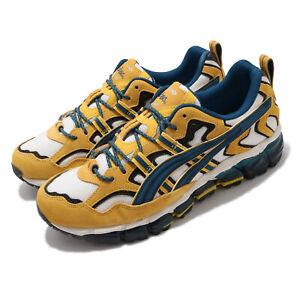 Asics Gel-Nandi 360 Mako Blue Cream Yellow Men Trail Running Casual 1021A284-100