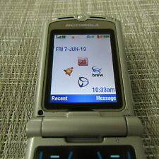 Motorola V3M - (Unknown Carrier) Clean Esn, Works, Please Read! 30488