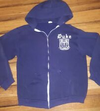 Vintage 70's Blue Devils Duke University hoodie Jacket College Crewneck Sweater