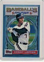 1993 Topps Finest #43 Kenny Lofton Cleveland Indians Baseball Card