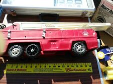 Vintage 60s 70s Large Tonka Aerial Ladder Fire Truck