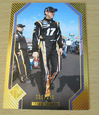 2012 PRESS PASS TOTAL MEMORABILIA GOLD MATT KENSETH #/275 NASCAR SPRINT CUP