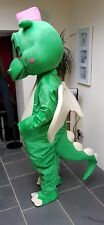 Green Dragon Mascots Costumes for HIRE great for Children's party's Events UK