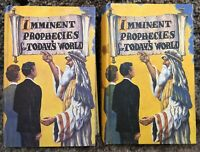 Imminent Prophecies for Today's World Volumes 1 and 2 John Gregory SDA HB B00ks