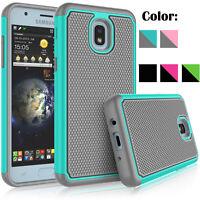 For Samsung Galaxy J3 Achieve Star Orbit Aura Phone Case With Screen Protector