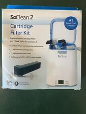 Cartridge Filter Kit for SoClean 2 - CPAP Cleaner Cleaning Sanitizer Supplies