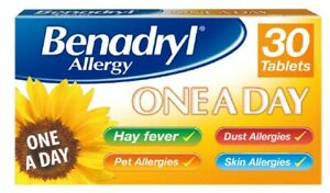 Piriton Allergy and Hay fever Tablets - 60 Tablets