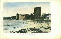 Granagh Castle Co Kilkenny postcard antique vintage colour printed Ireland